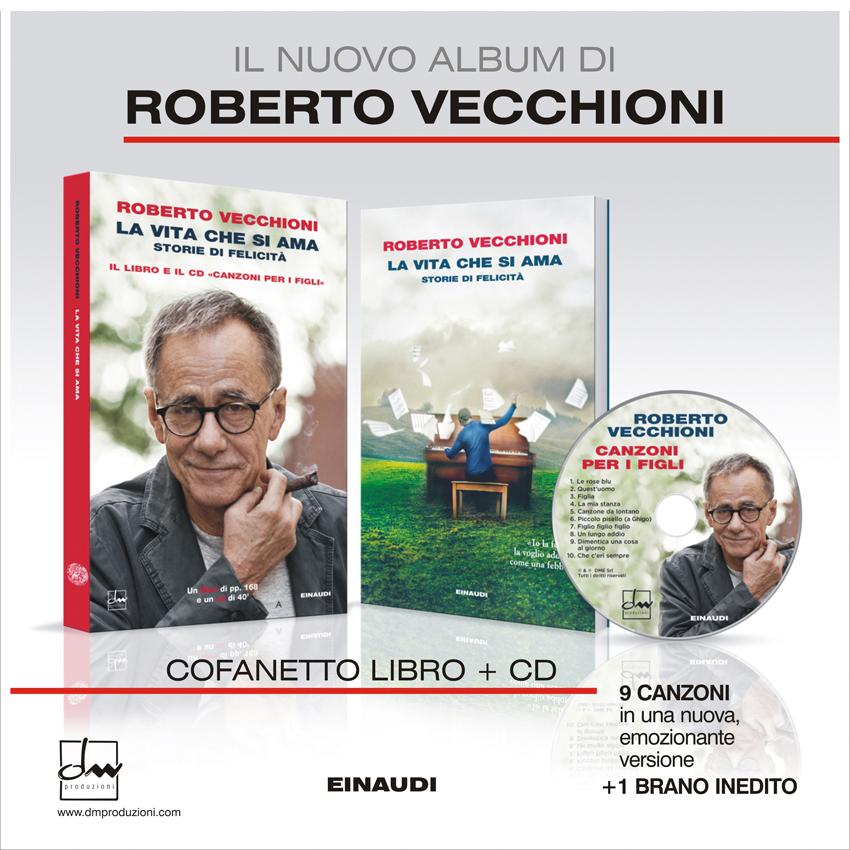 Il nuovo Album di Roberto Vecchioni