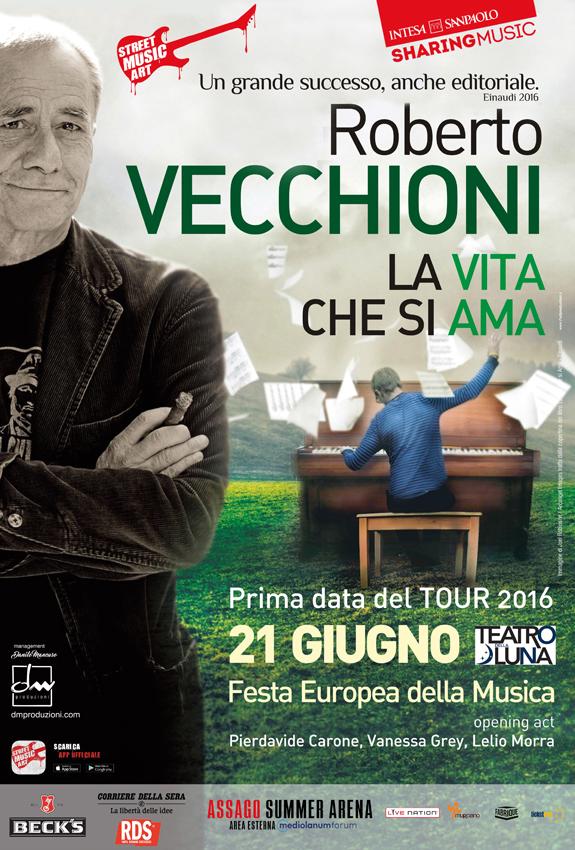 Roberto Vecchioni | La Vita che si Ama Tour 2016