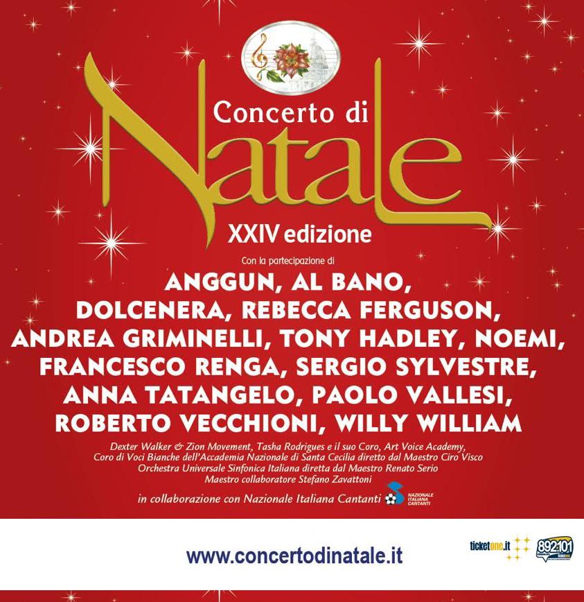 Roberto Vecchioni al Concerto di Natale XXIV ed.