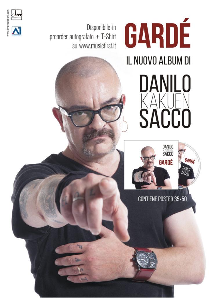 Gardé   Il nuovo album di Danilo Sacco