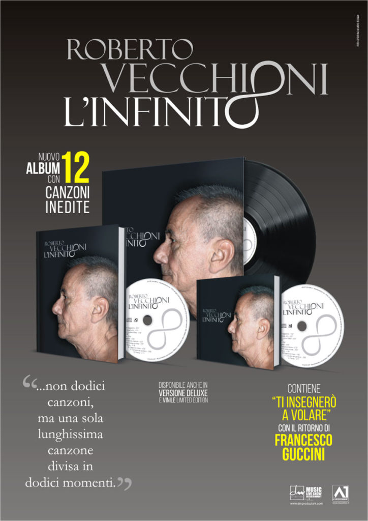 Il Concept Album di Roberto Vecchioni | In uscita il 9 novembre