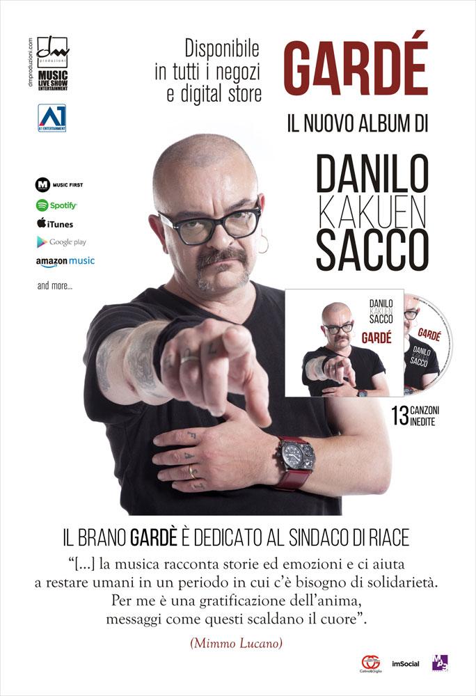 Gardé | Il nuovo album di Danilo Sacco