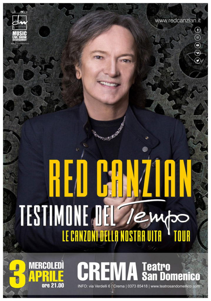 Testimone del Tempo Tour | Red Canzian