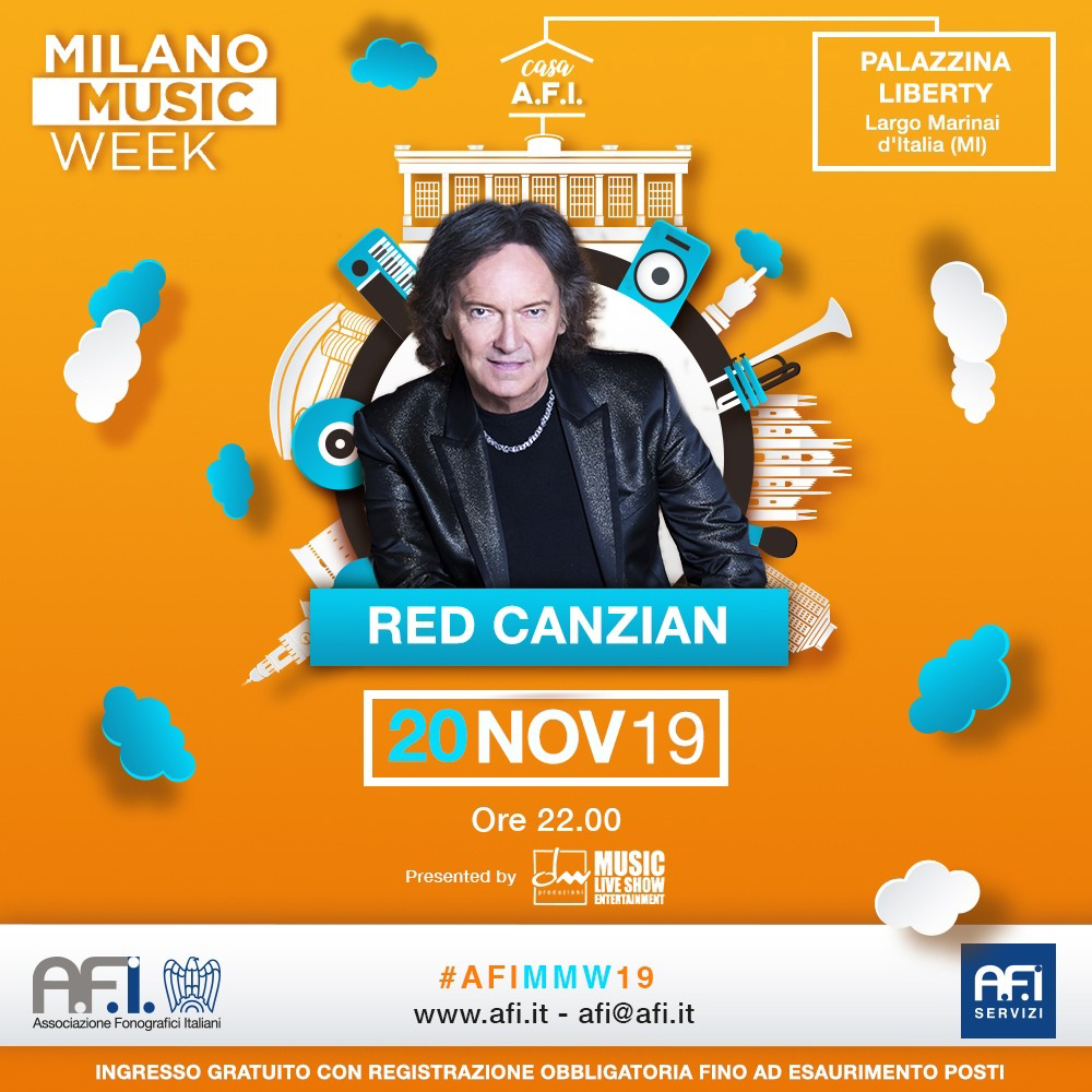 Milano Music Week – Red Canzian