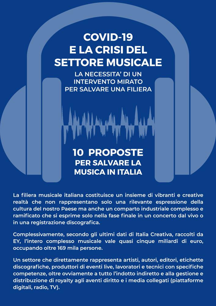 10 proposte per salvare la musica in Italia