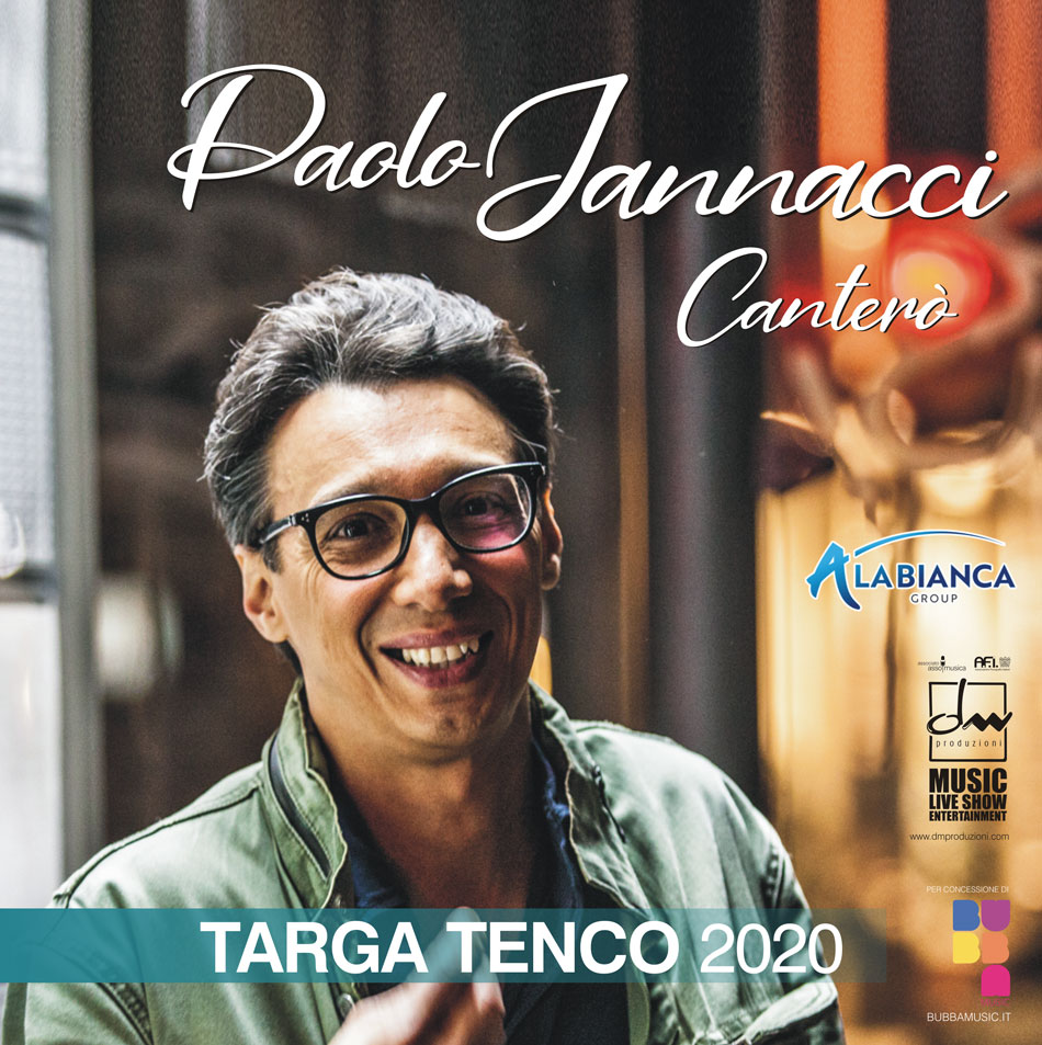 Targa Tenco 2020 a Paolo Jannacci