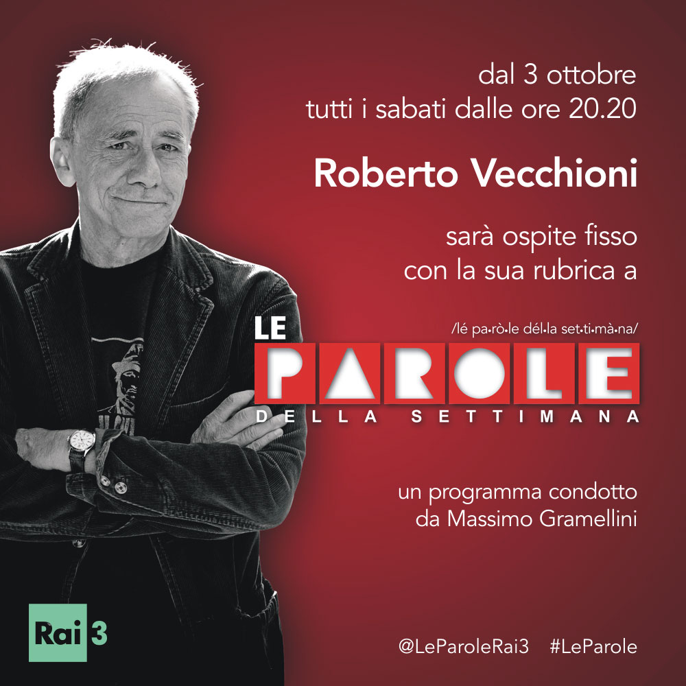 Roberto Vecchioni a Le Parole…