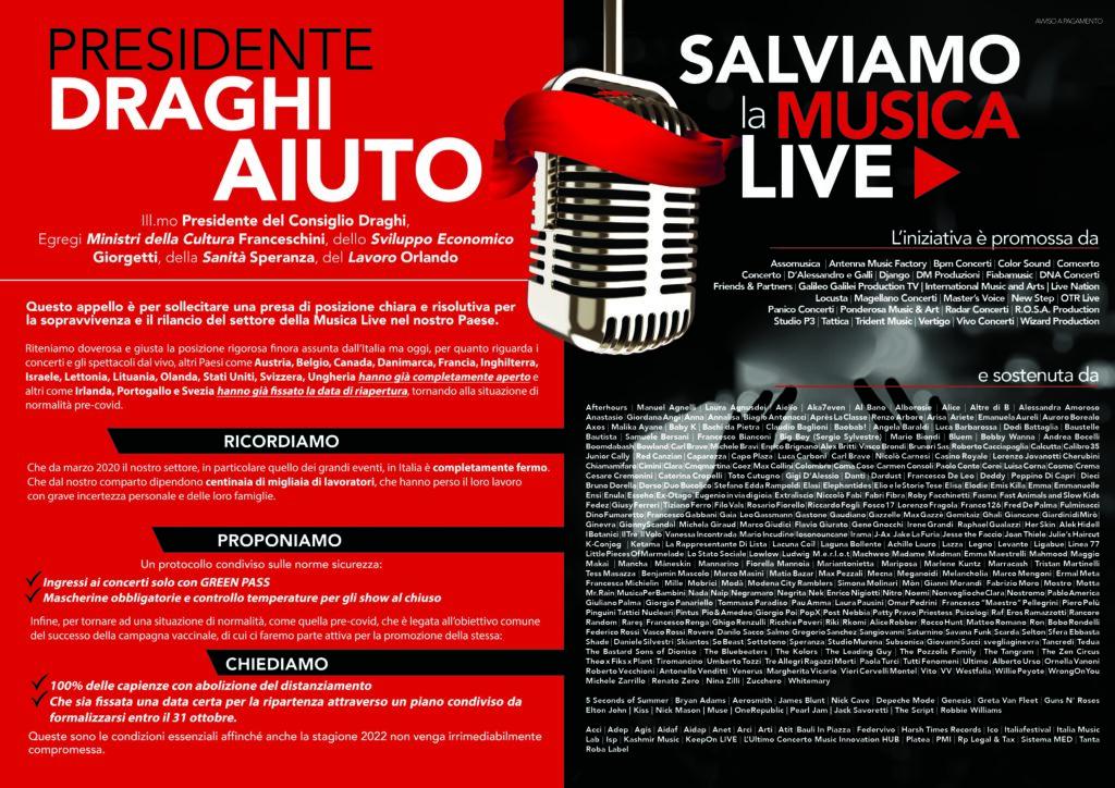 Salviamo La Musica Live